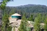 Photo: Rocky Ridge Yurt, Whoop-Um-Up Parking