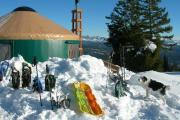 Photo: Stargaze Yurt, Beaver Creek Summit Parking