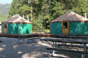 Photo: Osprey Point Group Yurts, LAKE CASCADE GROUP CAMPS